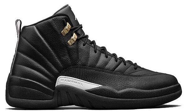b265f2ed4d12 Nike Air Jordan 12 Retro BG The Master Black Size UK 6 EUR 39 40 Brand New
