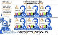 Francobolli Vaticano 2015 - 200° Ann. Nascita San Giovanni Bosco Minifoglio -  - ebay.it