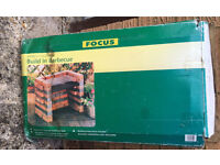 FOCUS Build In Barbecue Outdoor Garden NEED QUICK SALE