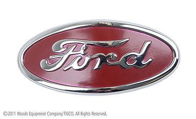 8n16600a Chome Hood Emblem For 8n Ford Tractors