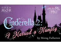 Panto ticket for Play, Pie & a Pint at Oran Mor 20/12/2017 - Cinderella 2: I Married A Numpty