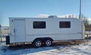 24' Office Trailer - with A/C, Heaters and Electric Toilet