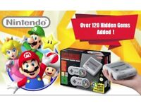 SNES Mini - with over 120 specially selected games added !