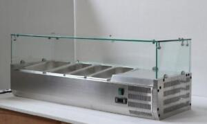 48''Refrigerated Countertop Sandwich Prep / Pizza Prep table 190600