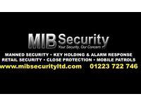 SIA Security Guard Work