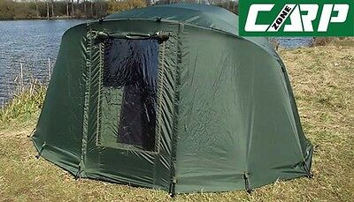 Carp-Zone Hurricane A.S (All Season) Two Man Bivvy with Overwrap, Carp Fishing