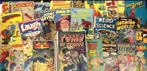 Wanted. Comic books