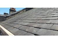 Reclaimed welsh roof slates approx 14inch X 10inch X450
