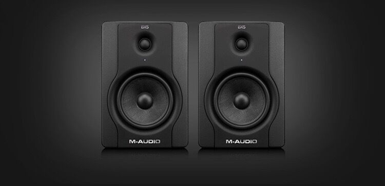 M-Audio BX5 D2 Speakers - Pair only 120 pounds + cables