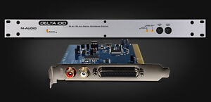 M-Audio Delta 1010: pci card+cable, breakout box+power supply