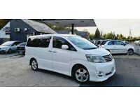 2004 Toyota Alphard 2.5 Petrol 8 Seater Automatic Long MOT Low Mileage Smooth Drive ULEZ Fre 1 Owner