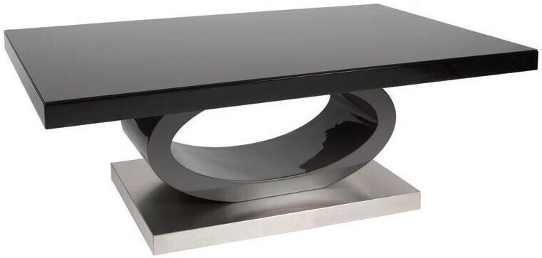 Brand New Still In A Box Decorative Black Coffee Table High Gloss