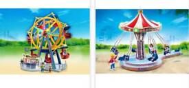 Playmobil fun fair set