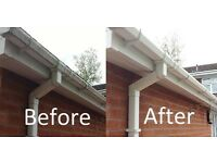 Gutter and window cleaning