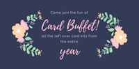Card Buffet (Cardmaking) in Inverary