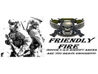 Friendly Fire Airsoft CQB Arena