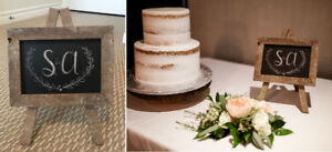 Small Rustic Wedding Shower/Reception Decor – PRICES REDUCED