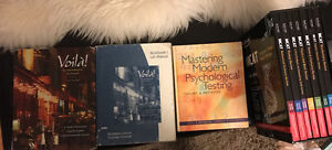 Selling MCAT and French textbook