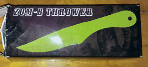 Set of Brand New Zom-B Throwing Knives