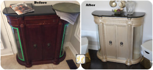 Upholstery service and furniture repair