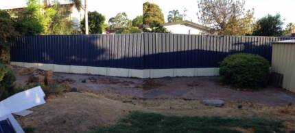 COLORBOND FENCING FROM $65pm
