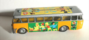 Tekno No. 854 Toy Bank Bus Made in Denmark with Box and Key