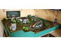 OO Gauge Model Railway Layout 4'x4'