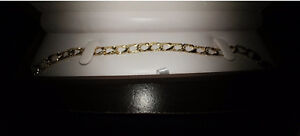 Bracelet or comme neuf massif 10K like new gold massive wristlet