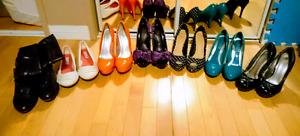 Ladies heels sizes 7-8