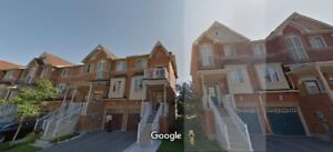AJAX- Beautiful 3 Bed / 3 bath End Unit Town-House FOR RENT