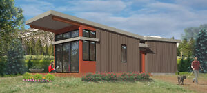 CONTEMPORARY PARK MODELS AND MODULAR HOME COTTAGES