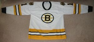 NHL Boston Bruins Pete Peeters Jersey # 1
