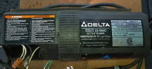 """:Electric Drive Motor:  """"Delta """" 12"""" Thickness Planer $35.00 OBO"""