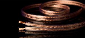 FIL haut parleur de qualité en cuivre de 6' à 25' pieds
