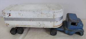 1950s Husky Toy Truck Pressed Steel Made in Canada Vintage Toy