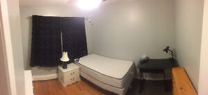 Spacious furnished room for rent / NBCC student wanted.