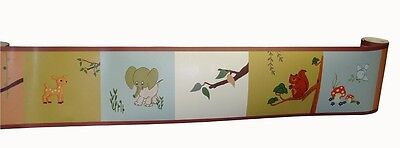 (Wall Border For Forest Friends Baby Bedding Set By Sisi)