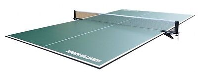 PING PONG / TABLE TENNIS POOL TABLE CONVERSION TOP IN GREEN