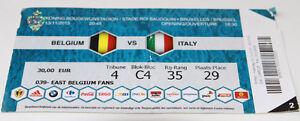 Ticket for collectors * Belgium - Italy 2015 in Brussels - <span itemprop=availableAtOrFrom>Poznan, Polska</span> - Ticket for collectors * Belgium - Italy 2015 in Brussels - Poznan, Polska