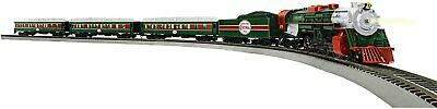 Lionel The Christmas Express Electric HO Gauge Model Train Set Bluetooth
