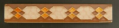 Vintage Tile Patterns - Pomona Vintage Decorated Border Tile Diamond Pattern