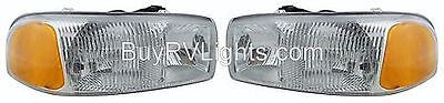 Tiffin Allegro 2002 2003 2004 2005 Pair Set Lights Headlights Head Lamps Rv