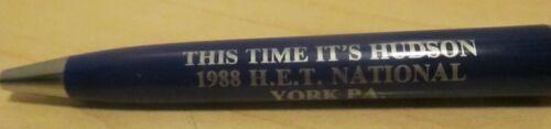 Hudson Pen This Time Its Hudson 1988 H E T National York Pa Garland Pen U S A