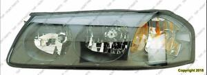 Head Light Driver Side [From 2000 To February 5Th 2004] High Quality Chevrolet Impala