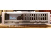 Vintage JVC SEA-60 10 Band Stereo Graphic Equalizer