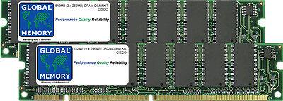 512mb 2x256mb Dram Kit Cisco 3030/50/60/80 Vpn Concentrators (cvpn30xx-mem-kitk)