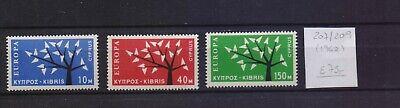 ! Cyprus 1962. Stamp. YT#207/209. €75.00!