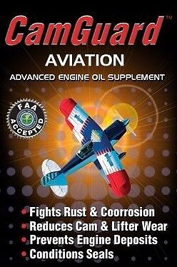 Aviation Oil Additive CamGuard