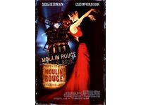Moulin Rouge - Secret Cinema - TONIGHT 15/04