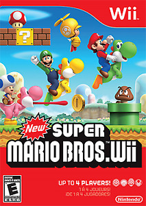 New Super Mario Bros. Wii - Nintendo Wii game (also Wii U)
